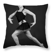 Grace And Power Throw Pillow