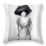 Grace La Rue Throw Pillow