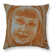 Grade One Throw Pillow