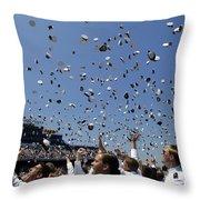 Graduates Of The U.s. Naval Academy Throw Pillow