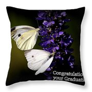 Graduation Congratulations Throw Pillow