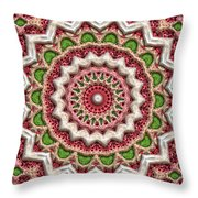 Graffiti Roses Throw Pillow