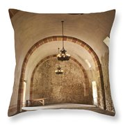 Granary Lights Throw Pillow