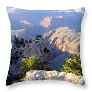Grand Canyon 18 Throw Pillow