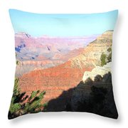 Grand Canyon 19 Throw Pillow