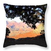 Grand Canyon 21 Throw Pillow