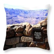 Grand Canyon 35 Throw Pillow
