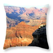 Grand Canyon 37 Throw Pillow