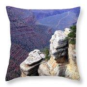 Grand Canyon 39 Throw Pillow