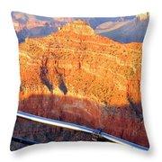Grand Canyon 43 Throw Pillow