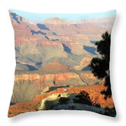 Grand Canyon 53 Throw Pillow
