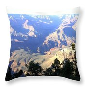 Grand Canyon 56 Throw Pillow