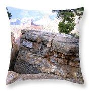 Grand Canyon 57 Throw Pillow