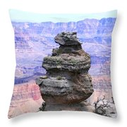 Grand Canyon 58 Throw Pillow