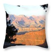Grand Canyon 59 Throw Pillow