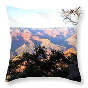 Grand Canyon 61 Throw Pillow