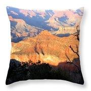 Grand Canyon 62 Throw Pillow