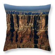 Grand Canyon Cliffs IIi Throw Pillow