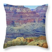 Grand Canyon Landscape II Throw Pillow