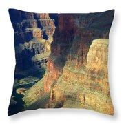 Grand Canyon Magic Of Light Throw Pillow