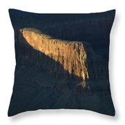 Grand Canyon Point Of Light Throw Pillow