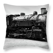 Grand Canyon Train Throw Pillow