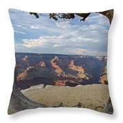 Grand Canyon Tree Throw Pillow