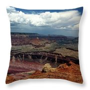 Grand Canyon View - Greeting Card Throw Pillow