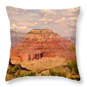 Grand Canyon - Yavapai  Throw Pillow