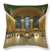 Grand Central Terminal I Throw Pillow