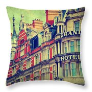 Grand Hotel Throw Pillow
