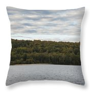 Grand Island E Channel Lighthouse 5 Throw Pillow
