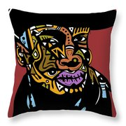 Grand Master Flash Throw Pillow