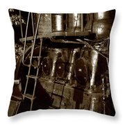 Grand Old Diesel Throw Pillow