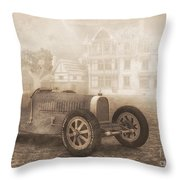 Grand Prix Racing Car 1926 Throw Pillow by Jutta Maria Pusl