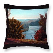 Grand River Look-out Throw Pillow