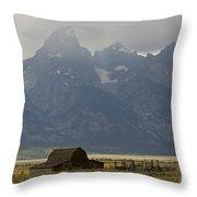 Grand Tetons Jackson Wyoming Throw Pillow