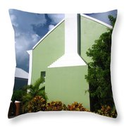 Grand Turk Store Building Throw Pillow