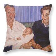 Grandpa And Grandma Throw Pillow