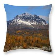 Granite Mountain Throw Pillow