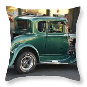 Grants Pass 2012 Cruise - Rumble Seat Open Throw Pillow