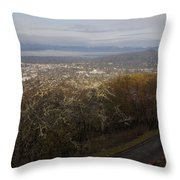 Grants Pass From The Hill Top Throw Pillow