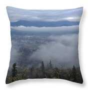 Grants Pass Weather Throw Pillow