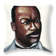 Granville Woods Throw Pillow