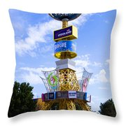 Grapevine Mills Mall Throw Pillow