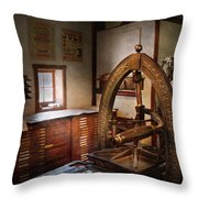 Graphic Artist - Graphic Workshop  Throw Pillow