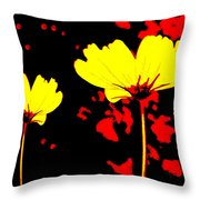 Graphic Three Throw Pillow