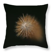 Grass Flower Throw Pillow