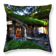 Grassy Top Throw Pillow