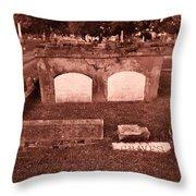 Graves Throw Pillow